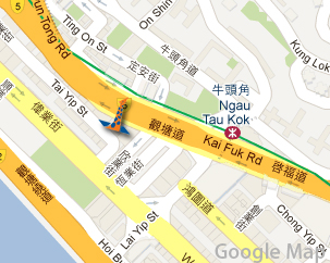 ROOM+ mini-storage facility is on 338 Kwun Tong Road